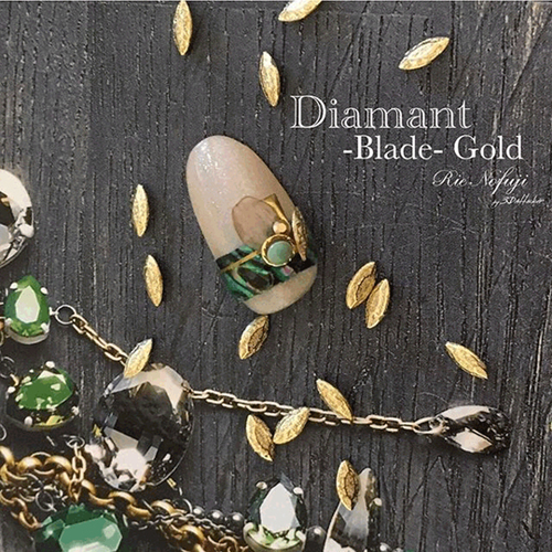 Diamant Blade Gold 10P