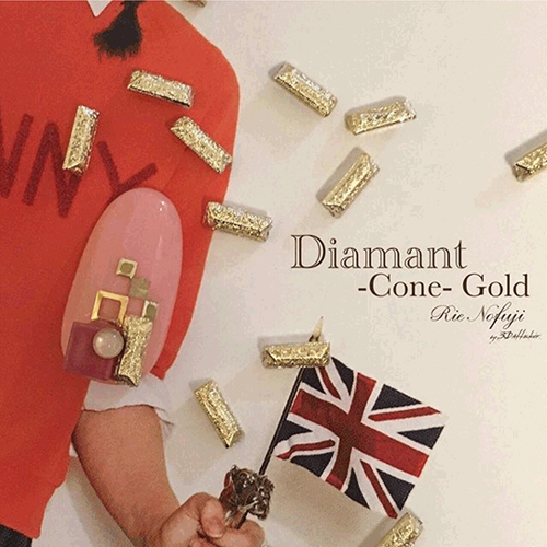 Diamant Cone Gold 8P