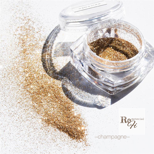 ReFi materialglitter シャンパン 約1g